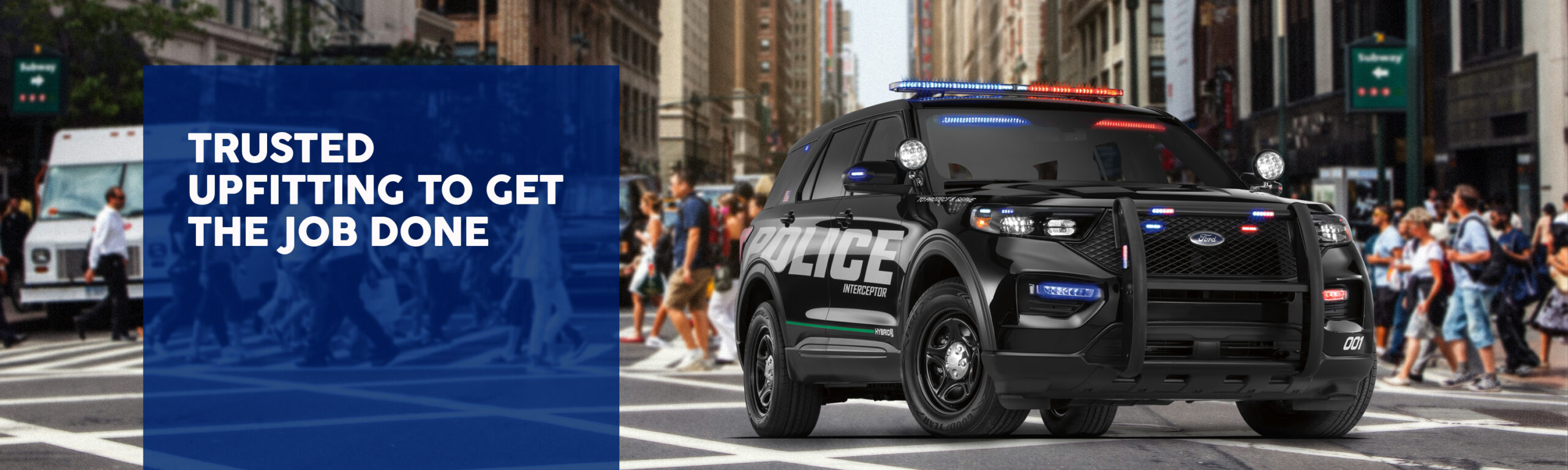 Ford Utility Police Vehicle - Trusted Upfitters