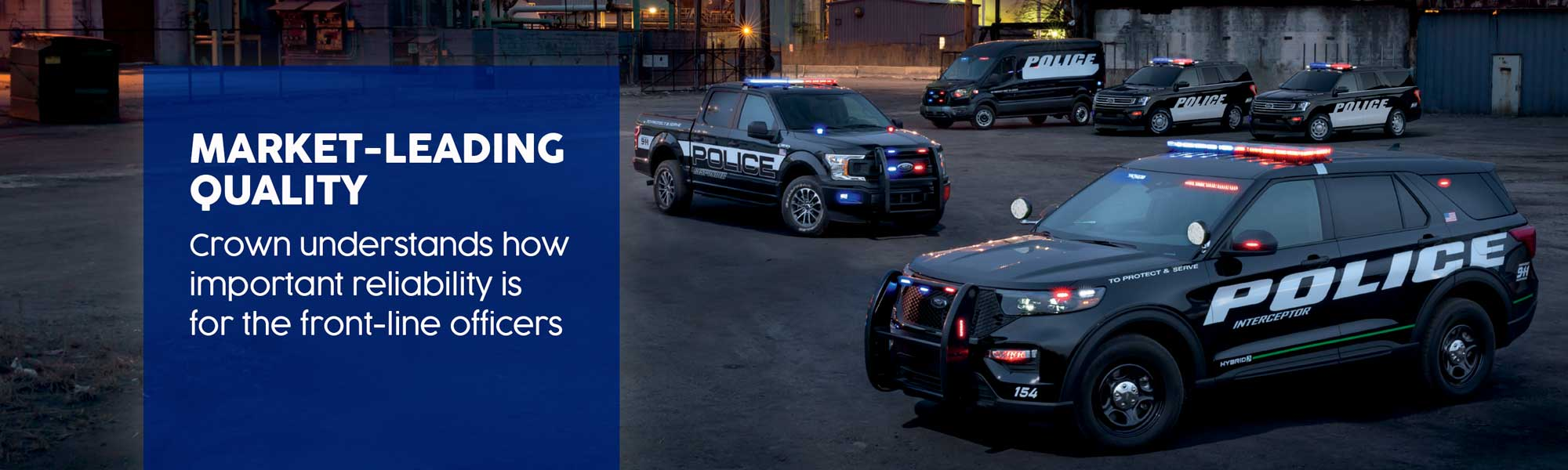 Ford Police Lineup Header