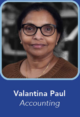 Valantina Paul - Crown Accounting