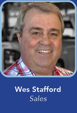 Wes Stafford - Crown Sales