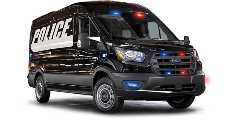 Prisoner Transport Vehicle